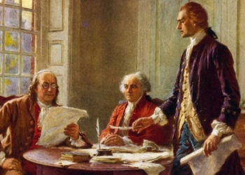 Declaration of independence, sentry hill,
