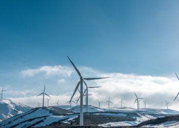 Initial large scale wind power array in united states approved