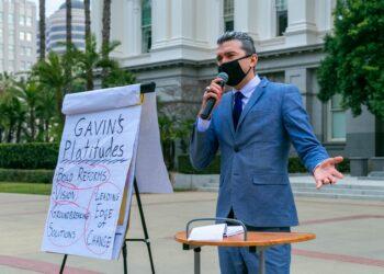 California governor race and governor recall
